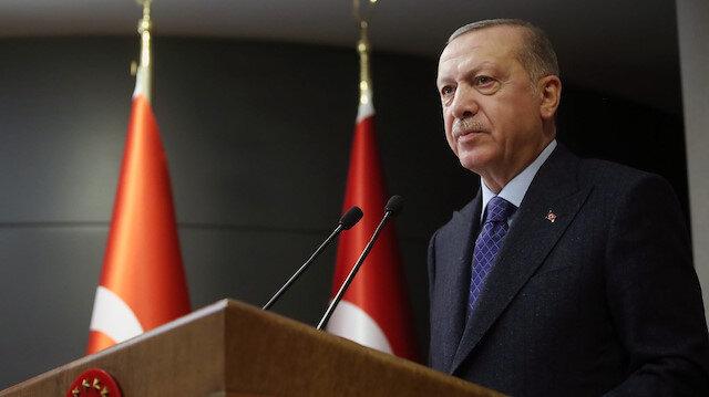 Cumhurbaşkanı Erdoğan'dan fetih mesaj: 14.53'te paylaşım yaptı