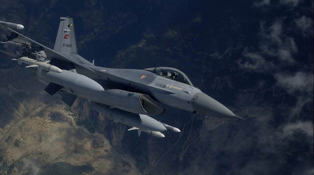 Gara'ya hava harekatı: 2 PKK'lı terörist etkisiz hale getirildi