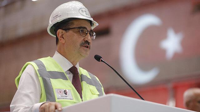 Bakan Dönmez: Fatih sondaj gemimizi Karadeniz'deki ilk sondajı için yolcu ediyoruz