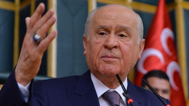 MHP lideri Bahçeli'den fetih mesajı: Kalan Bizans artıkları da elenecek