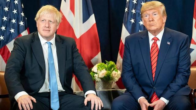 Johnson ve Trump koronavirüs aşısını görüştü