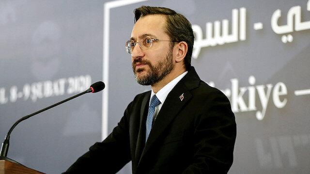 İletişim Başkanı Altun'dan Muharrem İnce'ye: Bu zihniyetin iflah olmaz saldırılarının son bulmasını temenni ediyoruz