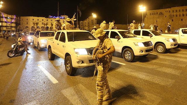 Libya Ordusu başkentin güneyindeki Trablus Havalimanı yakınlarında kontrolü sağladı