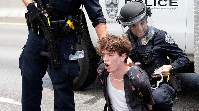 ABD'de iç savaş: Gösteriler dalga dalga yayılıyor, yüz binler polis ile çatışıyor