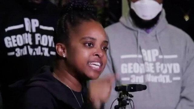 ABD'li aktivist Tamika Mollery : Yağma sizin işiniz, biz sizden öğrendik