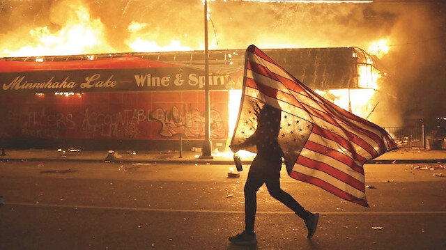 Amerika rüyası yanıyor: Irkçı cinayete tepki ülke geneline yayıldı