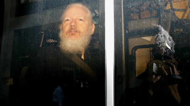 WikiLeaks'in kurucusu Assange'in 'solunum problemi' nedeniyle mahkemeye katılamadı