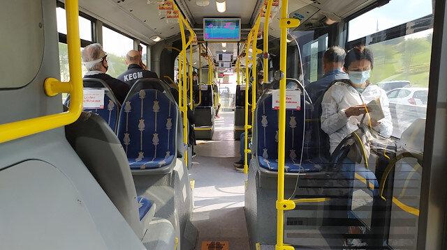 Metro, metrobüs, otobüs: Toplu taşıma araçlarının içinden görüntüler