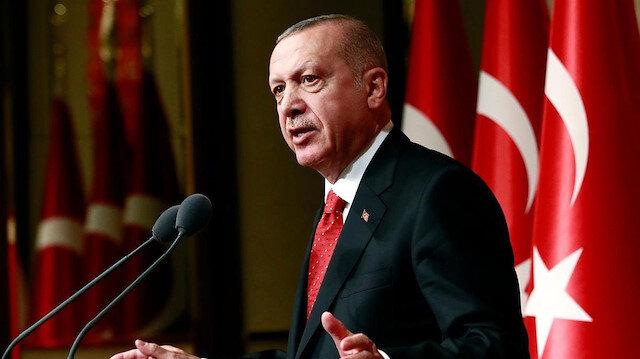 Cumhurbaşkanı Erdoğan Siirt'teki şehitlerimiz için başsağlığı mesajı yayımladı