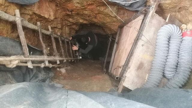 Sakarya'da maden tüneli gibi define kazısına suçüstü: 2 kişi gözaltına alındı