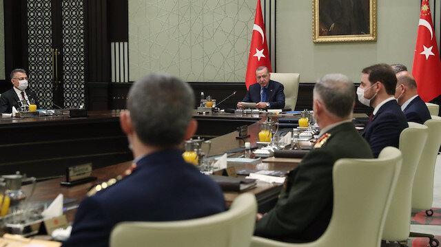 Cumhurbaşkanı Erdoğan başkanlığında toplanan MGK toplantısı sonrası bildiri yayımlandı
