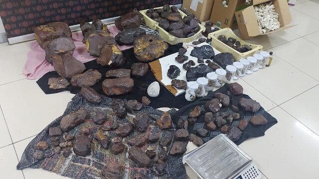 Mersin'de 145 kilogram balina kusmuğu ele geçirildi: Piyasa değeri 11 milyon TL