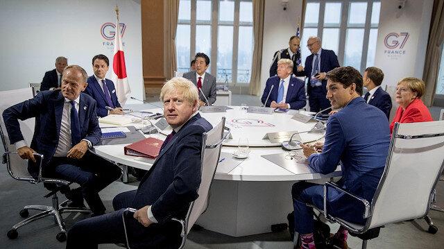 AB, Rusya'nın G7'ye tekrar davet edilmesini istemiyor