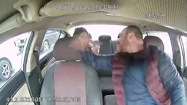 İstanbul'un göbeğinde taksici dehşeti: Yolcuyu dövdü, serbest kaldı