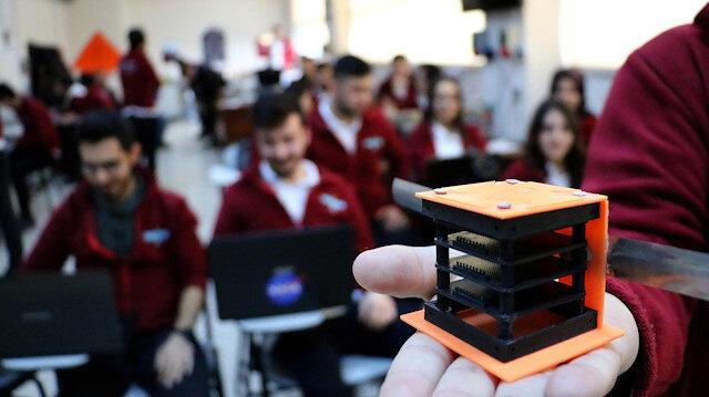 Türkiye'nin ilk cep uydusu: Grizu-263A uzay yolunda