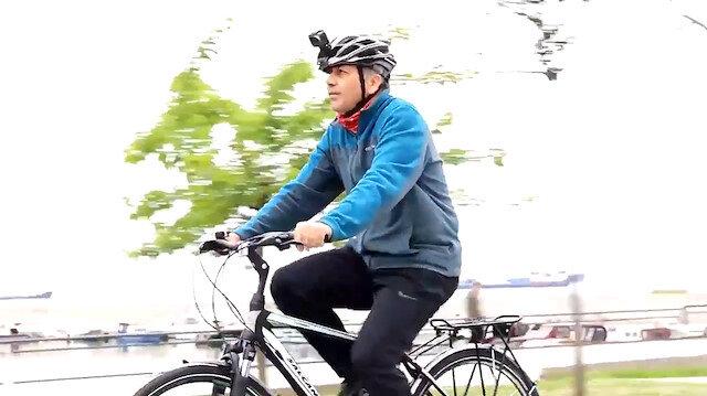 İstanbul Valisi Ali Yerlikaya, Dünya Bisiklet Günü'nde 23 Kilometre Pedal Çevirdi