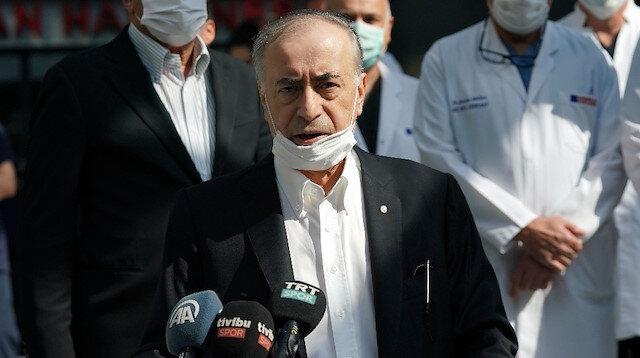 Galatasaray Spor Kulübü Mustafa Cengiz taburcu edildi