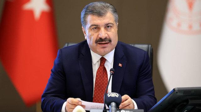 Sağlık Bakanı Fahrettin Koca, Bilim Kurulu toplantısı sonrası açıklama yapıyor