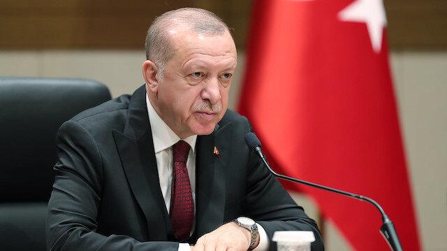Cumhurbaşkanı Erdoğan: Türkiye, salgının başından bu yana küresel dayanışmanın altını çizmiştir