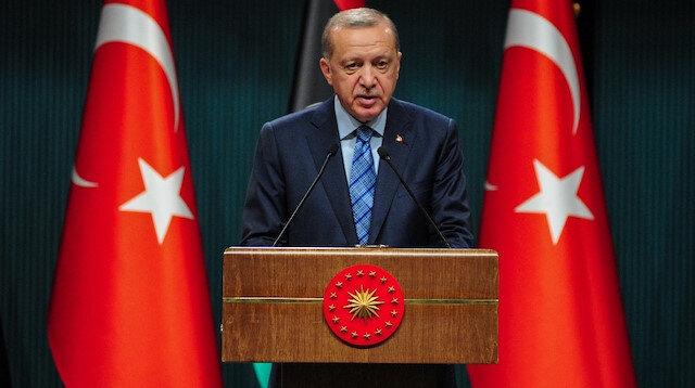 Cumhurbaşkanı Erdoğan: Darbeci Hafter'i destekleyerek Libya'yı kan ve göz yaşına boğanları tarih yargılayacak