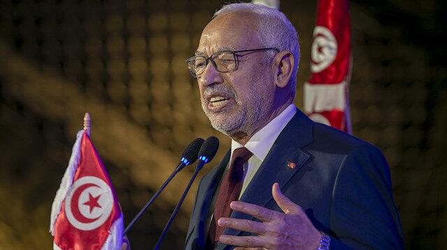 Tunus Meclis Başkanı Gannuşi: Libya'da siyasi geçişten yanayız