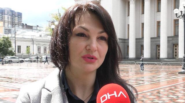 Ukrayna'da sözde 'Ermeni Soykırımı' ifadesinin yasaklanmasında önemli rol oynayan milletvekili Marçenko: Keşke herkes Türkler gibi merhametli olsa