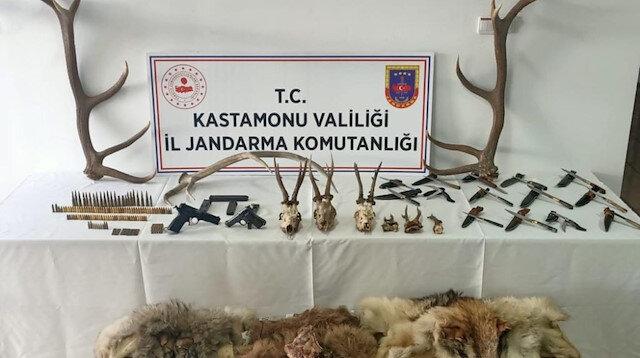 Koruma altındaki karacaları avlayanlara ceza yağdı