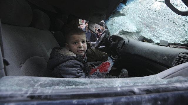 Suriye'de iç savaşta kaybolan çocukluk