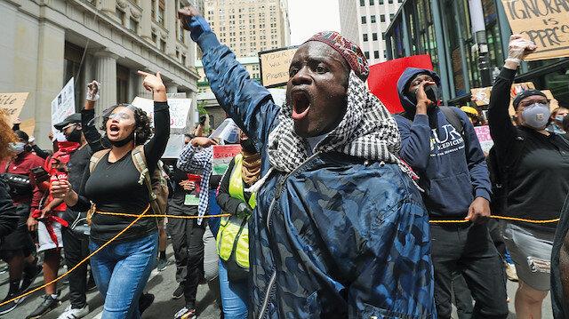 ABD'de Floyd isyanları: Gösteriler sivil itaatsizliğe dönüştü