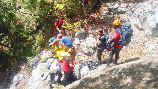 Düldül Dağı'ndan acı haber: 450 metre yükseklikten düşerek hayatını kaybetti