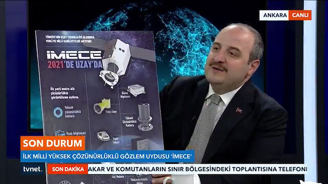 'Yerli ve Milli uydumuzu 2021'de fırlatacağız'