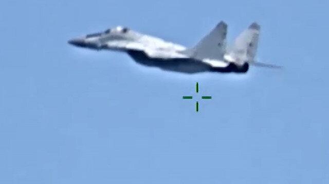 AFRICOM, Rusya'nın Hafter'e gönderdiği uçakların görüntülerini paylaştı
