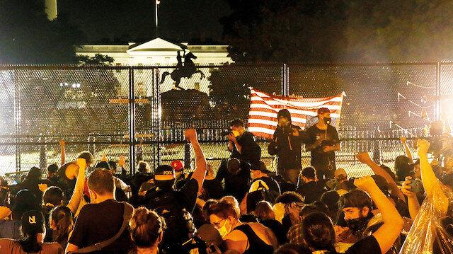 Eylemlerin hedefi Beyaz Saray:  ABD'de çalışan Türk polis perde arkasında oynanan oyuna dikkat çekti
