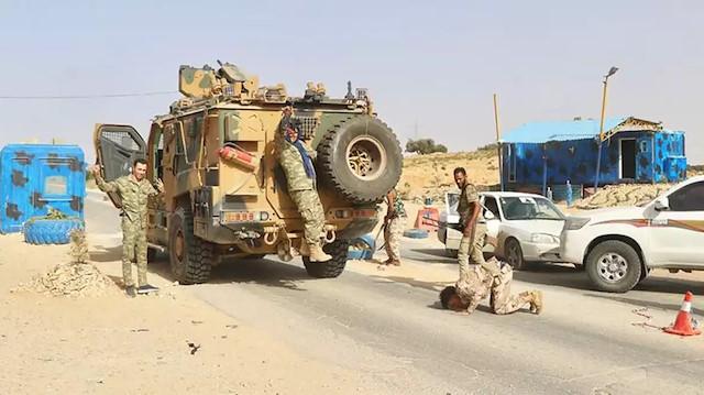 Libya ordusu Vişke beldesini de Hafter milislerinden kurtardı