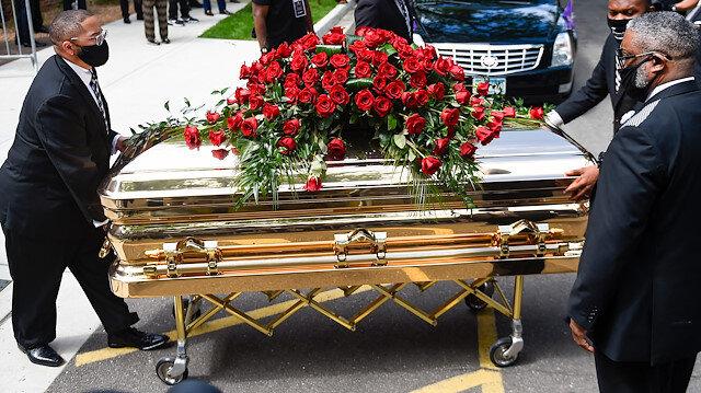 ABD'de polis şiddetiyle öldürülen Floyd için ikinci cenaze töreni düzenlendi