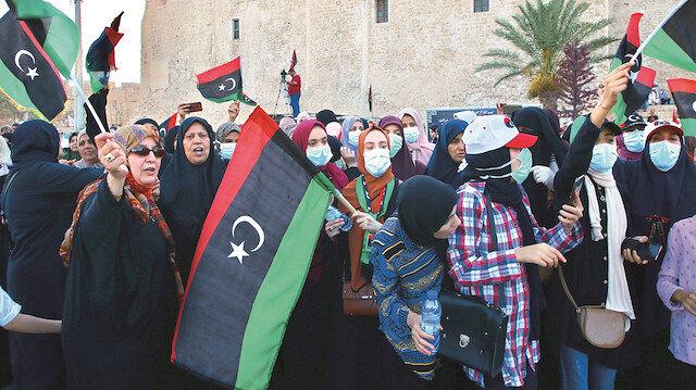 Libya'da zafer coşkusu