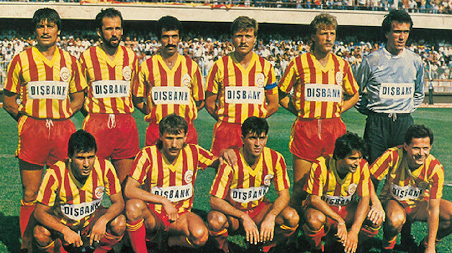 Galatasaray'dan 1986-87 sezonu hatırlatması
