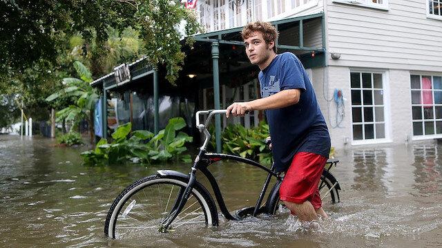 ABD'de Louisiana için tropik fırtına uyarısı