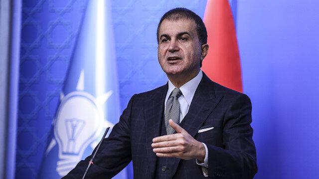 AK Parti Sözcüsü Ömer Çelik'ten Yunan Bakan'a cevap: Bu tip kötü şakalar yapmayın, bu tip şakalar alnınıza yapışır