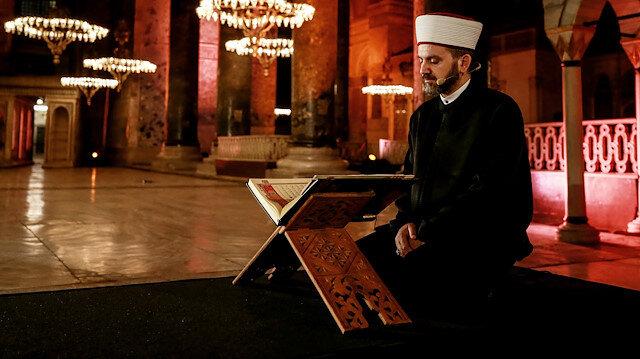 Ayasofya için flaş iddia: Cami halısı siparişi verildi