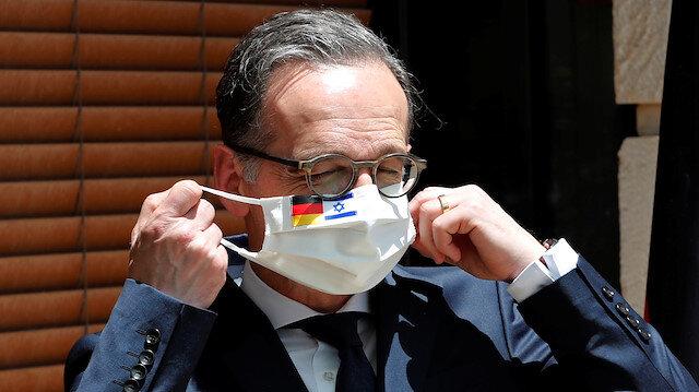 Almanya Dışişleri Bakanı, Tel Aviv'i 'ilhak' hakkında uyarmak için İsrail'de
