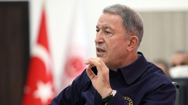 Milli Savunma Bakanı Akar: Hafter'in Libya dışında olduğu yönünde bilgi aldık