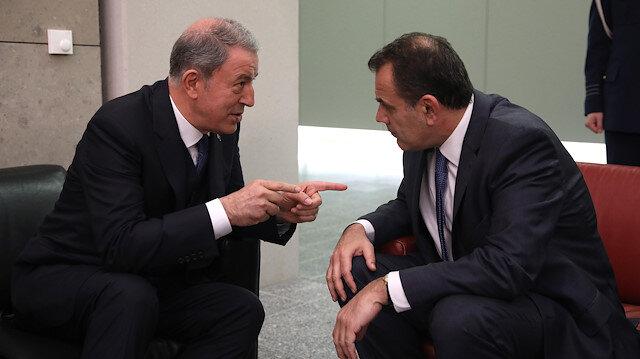 Milli Savunma Bakanı Akar: Yunanistan'ın Türkiye ile savaşmak isteyeceğini düşünmüyorum