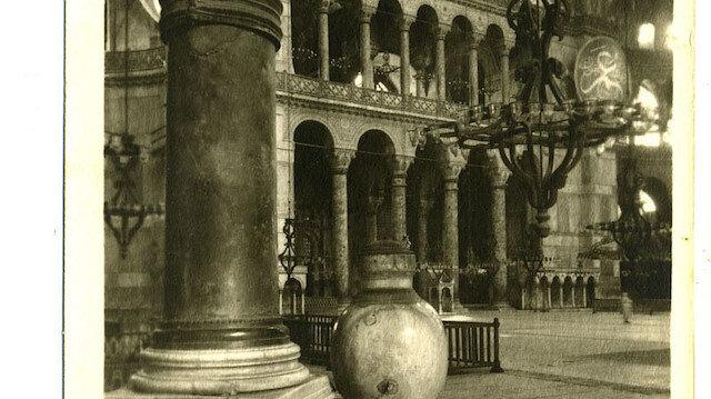 100 yıl önce Ayasofya: Cami olduğu yıllara ait bilinmeyen fotoğraflar