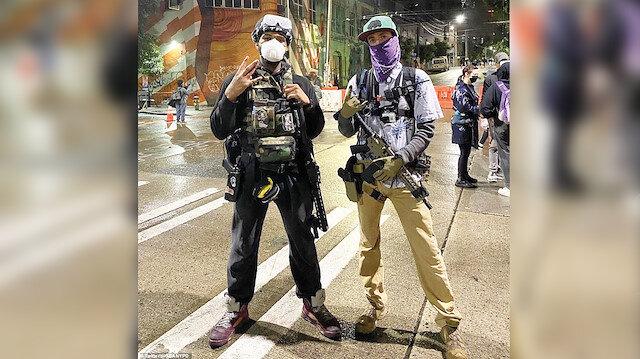 Seattle'da özerklik ilan ettiler: ABD'de anarşi kol geziyor