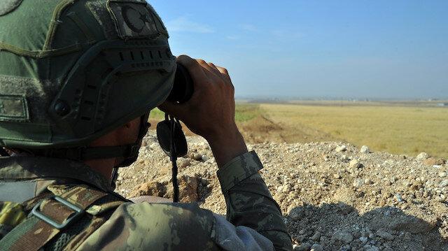 Fırat Kalkanı bölgesinde bir, Zeytin Dalı bölgesinde 6 PKK/YPG'li terörist gözaltına alındı