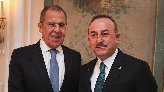 Dışişleri Bakanı Çavuşoğlu ile Lavrov telefonda görüştü