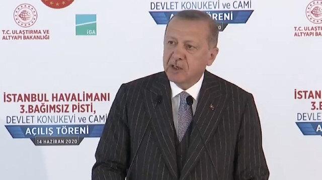 İstanbul Havalimanı'nda tarihi gün: Cumhurbaşkanı Erdoğan üçüncü pisti açıyor