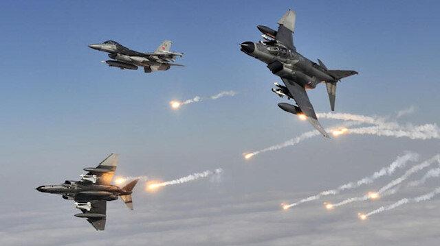 Irak kuzeyindeki hava harekatında 4 PKK'lı terörist etkisiz hale getirildi