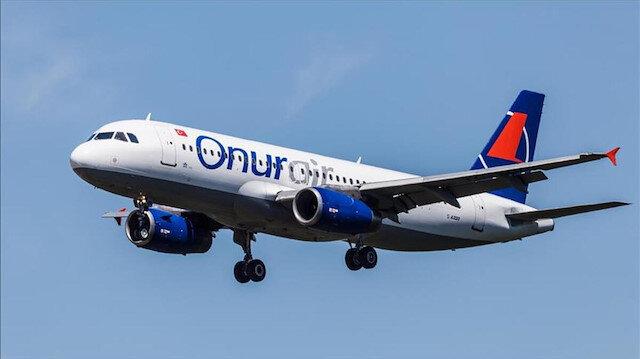 Onur Air, yurt içi uçuşlarına hazırlanıyor